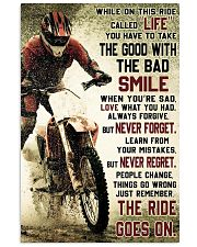 THE RIDE GOES ON   Vertical Poster tile