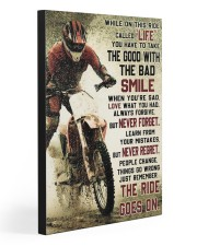 THE RIDE GOES ON   20x30 Gallery Wrapped Canvas Prints front