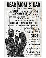 DEAR MOM AND DAD Vertical Poster tile