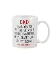 DEAR DAD  Mug front