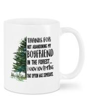 THANKS FOR NOT ABANDONING MY BOYFRIEND Mug front