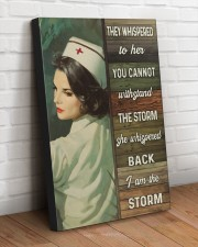 I AM THE STORM  20x30 Gallery Wrapped Canvas Prints aos-canvas-pgw-20x30-lifestyle-front-14
