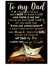 TO MY DAD - MB315 16x24 Poster front