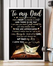 TO MY DAD - MB315 16x24 Poster lifestyle-poster-4