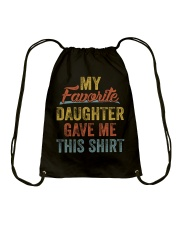 MY FAVORITE DAUGHTER GAVE ME THIS SHIRT - MB96 Drawstring Bag thumbnail