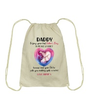DEAR DADDY - MB272 Drawstring Bag thumbnail