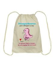 PRANGRYSAURUS Drawstring Bag thumbnail