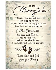 TO MY MUMMY TO BE Vertical Poster tile
