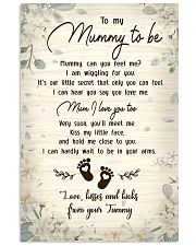 TO MY MUMMY TO BE 24x36 Poster front