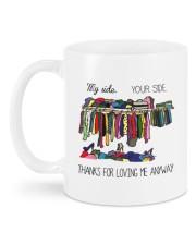 THANKS FOR LOVING ME ANYWAY Mug back