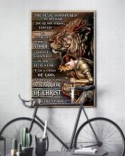 A WARRIOR OF CHRIST 24x36 Poster lifestyle-poster-7