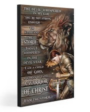 A WARRIOR OF CHRIST 20x30 Gallery Wrapped Canvas Prints thumbnail