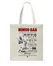TO MY BONUS DAD - MB100 Tote Bag thumbnail