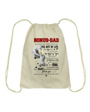 TO MY BONUS DAD - MB100 Drawstring Bag thumbnail