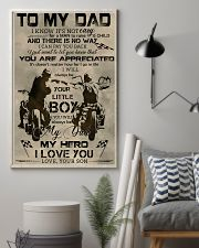 TO MY DAD - BIKER - MB304 16x24 Poster lifestyle-poster-1