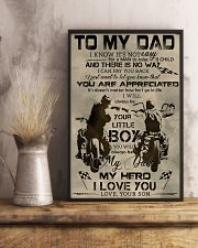 TO MY DAD - BIKER - MB304 16x24 Poster lifestyle-poster-3