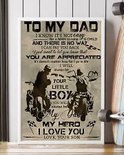 TO MY DAD - BIKER - MB304 16x24 Poster lifestyle-poster-4