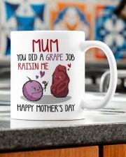 YOU DID A GRAPE JOB RAISIN ME  Mug ceramic-mug-lifestyle-57