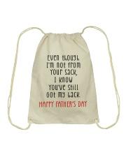 HAPPY FATHER'S DAY - MB288 Drawstring Bag thumbnail