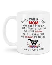 I KNOW IT WAS TEMPTING Mug back