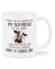 ABANDONING MY BOYFRIEND IN THE BARN Mug front