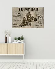 TO MY DAD - MB312 36x24 Poster poster-landscape-36x24-lifestyle-01