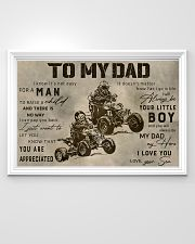 TO MY DAD - MB312 36x24 Poster poster-landscape-36x24-lifestyle-02