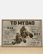 TO MY DAD - MB312 36x24 Poster poster-landscape-36x24-lifestyle-03