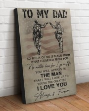 TO MY DAD - VETERAN  20x30 Gallery Wrapped Canvas Prints aos-canvas-pgw-20x30-lifestyle-front-14