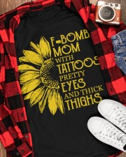 F-BOMB MOM  Classic T-Shirt apparel-classic-tshirt-lifestyle-front-163