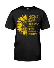 F-BOMB MOM  Classic T-Shirt front