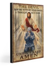 UNTIL I SAID AMEN 20x30 Gallery Wrapped Canvas Prints front