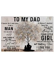 TO MY DAD - MB169 24x16 Poster front