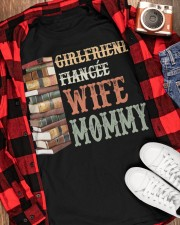 WIFE MOMMY Classic T-Shirt apparel-classic-tshirt-lifestyle-front-163