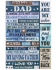 TO MY DAD - 178 11x17 Poster front