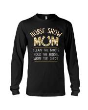 HORSE SHOW MOM  Long Sleeve Tee thumbnail