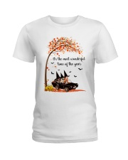 THE MOST WONDERFUL TIME OF THE YEAR  Ladies T-Shirt thumbnail