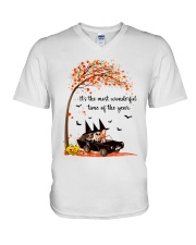 THE MOST WONDERFUL TIME OF THE YEAR  V-Neck T-Shirt thumbnail