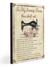IN MY SEWING ROOM THOU SHALT NOT  20x30 Gallery Wrapped Canvas Prints front