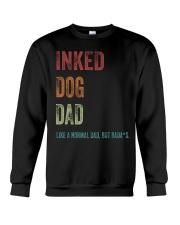 Inked Dog Dad - MB24 Crewneck Sweatshirt thumbnail
