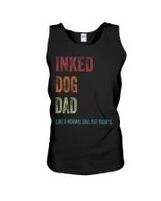Inked Dog Dad - MB24 Unisex Tank thumbnail