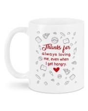 EVEN WHEN I GET HANGRY Mug back