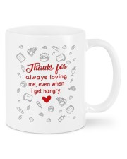EVEN WHEN I GET HANGRY Mug front