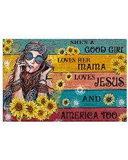 SHE'S A GOOD GIRL Horizontal Poster tile
