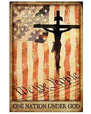 ONE NATION UNDER GOD  Vertical Poster tile