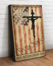 ONE NATION UNDER GOD  20x30 Gallery Wrapped Canvas Prints aos-canvas-pgw-20x30-lifestyle-front-14