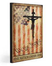 ONE NATION UNDER GOD  20x30 Gallery Wrapped Canvas Prints front
