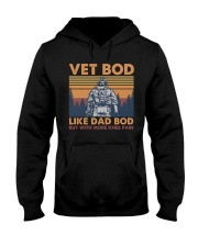 VET BOD - MB255 Hooded Sweatshirt thumbnail