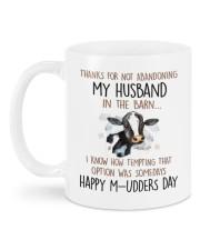 ABANDONING MY HUSBAND IN THE BARN Mug back