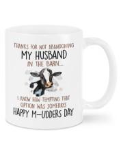 ABANDONING MY HUSBAND IN THE BARN Mug front